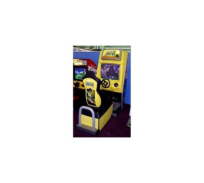 SMASHING DRIVE Sit-Down Racing Arcade Machine Game for sale by GAELCO