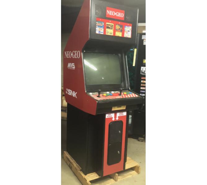 SNK NEO GEO MVS 4 SLOT in 1 Upright Arcade Machine Game for sale