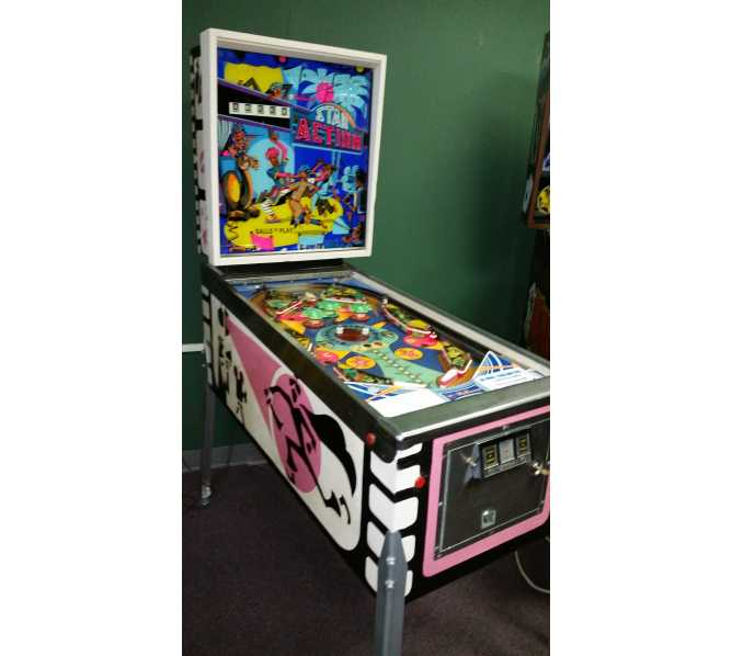 STAR ACTION Pinball Machine Game for sale
