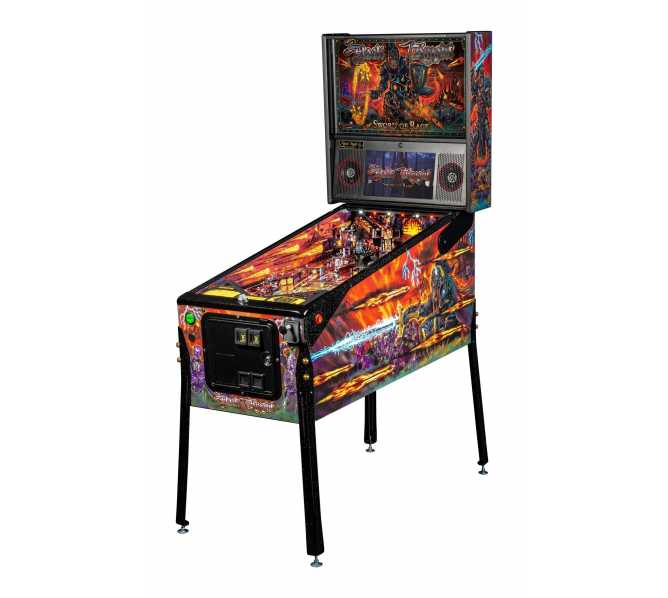 STERN BLACK KNIGHT : SWORD OF RAGE LE Pinball Machine Game for sale