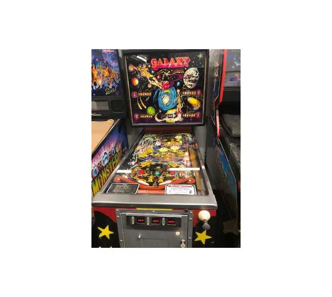 STERN GALAXY Pinball Machine Game for sale