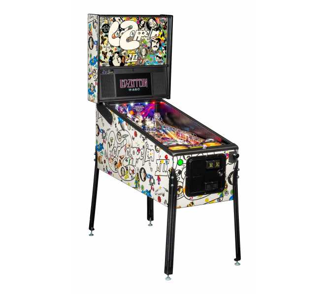 LED ZEPPELIN PRO Pinball Game Machine for sale