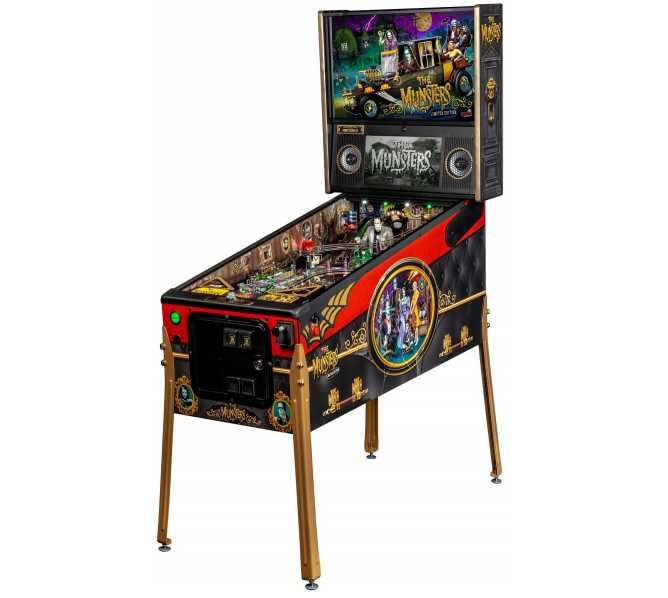 STERN THE MUNSTERS LE Pinball Machine Game for sale