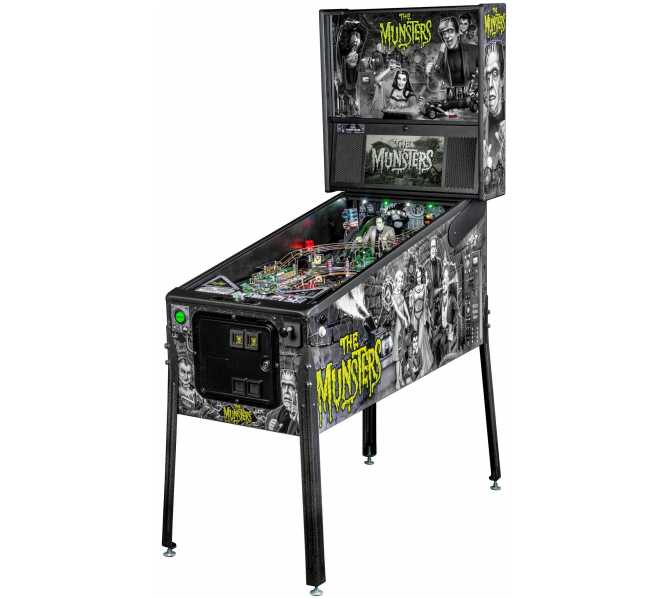 STERN THE MUNSTERS PREMIUM Pinball Machine Game for sale