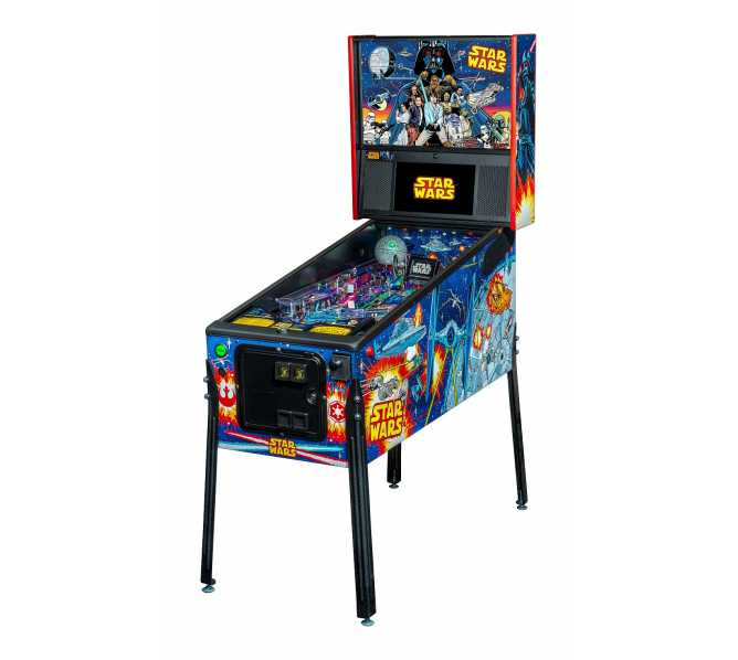 STERN STAR WARS COMIC ART PRO Pinball Game Machine for sale
