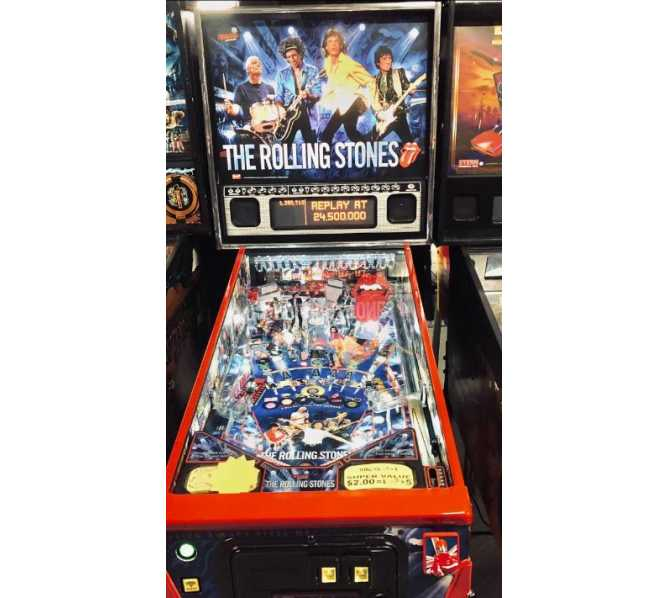 STERN THE ROLLING STONES PRO Pinball Machine Game for sale