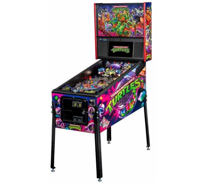 STERN Teenage Mutant Ninja Turtles PREMIUM Pinball Machine Game for sale