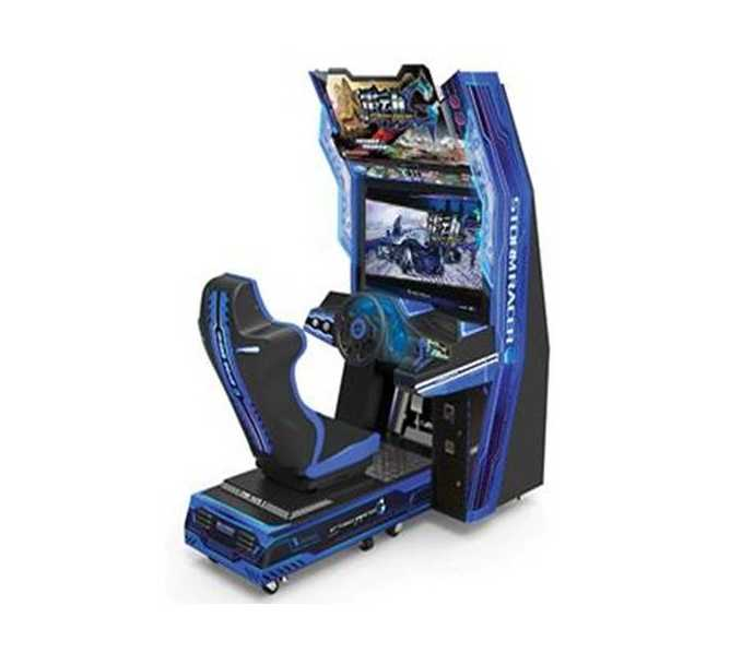 STORM RACER Sit-Down Arcade Machine Game for sale by SEGA