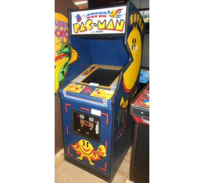 SUPER PAC-MAN Arcade Machine Game for sale