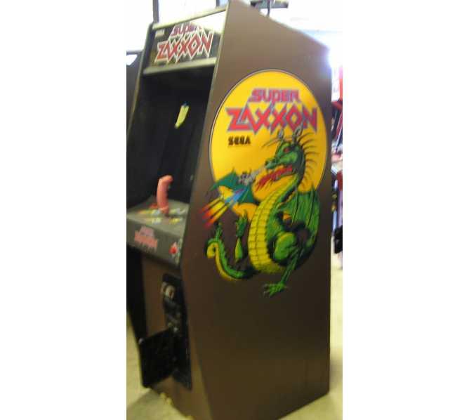 SUPER ZAXXON Arcade Machine Game for sale by SEGA