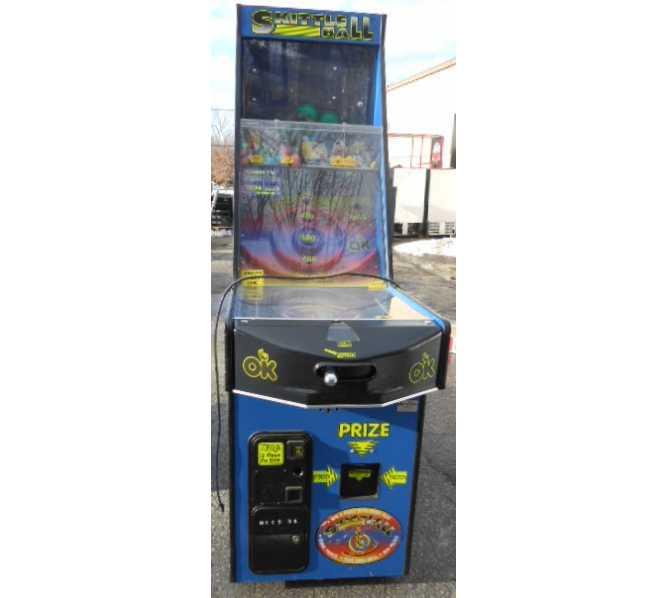 SKITTLE BALL Arcade Machine Game for sale by OK MFG.