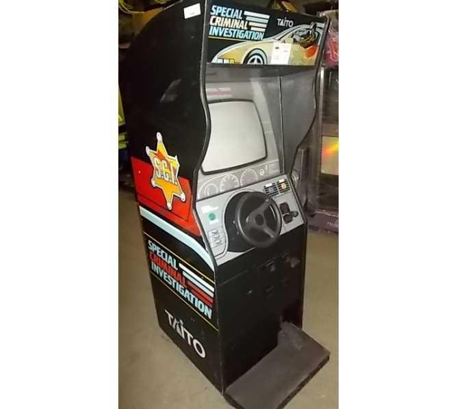 SPECIAL CRIMINAL INVESTIGATION Upright Arcade Machine Game for sale