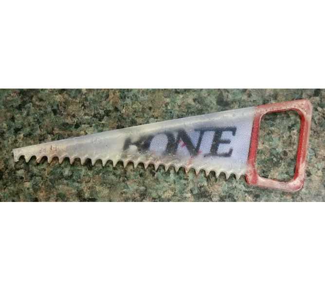 "Spider Man ""Bone Saw McGraw"" Original Pinball Machine Promotional Key Fob Keychain Plastic - Stern"