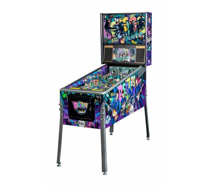 "Stern THE BEATLES ""BEATLEMANIA"" PLATINUM EDITION Pinball Machine Game for sale"