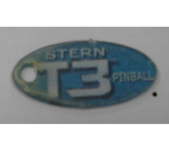 TERMINATOR 3 Original Pinball Machine Promotional Key Fob Keychain Plastic - Stern