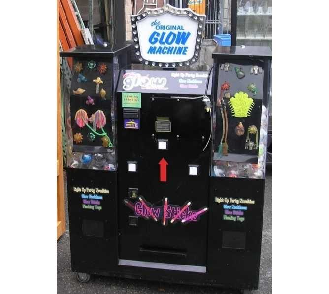 THE ORIGINAL GLOW MACHINE Arcade Game for sale
