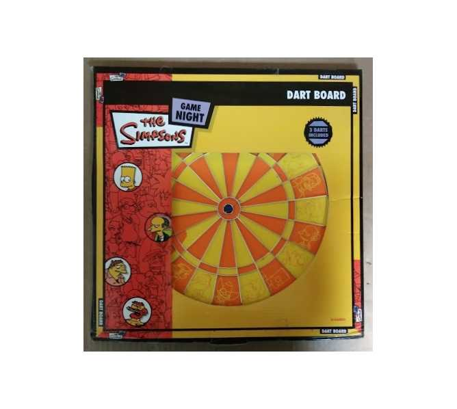 THE SIMPSONS GAME NIGHT DART BOARD for sale
