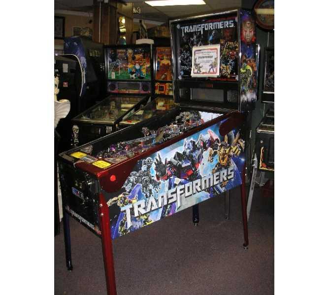 TRANSFORMERS LE AUTOBOT CRIMSON Pinball Machine Game for