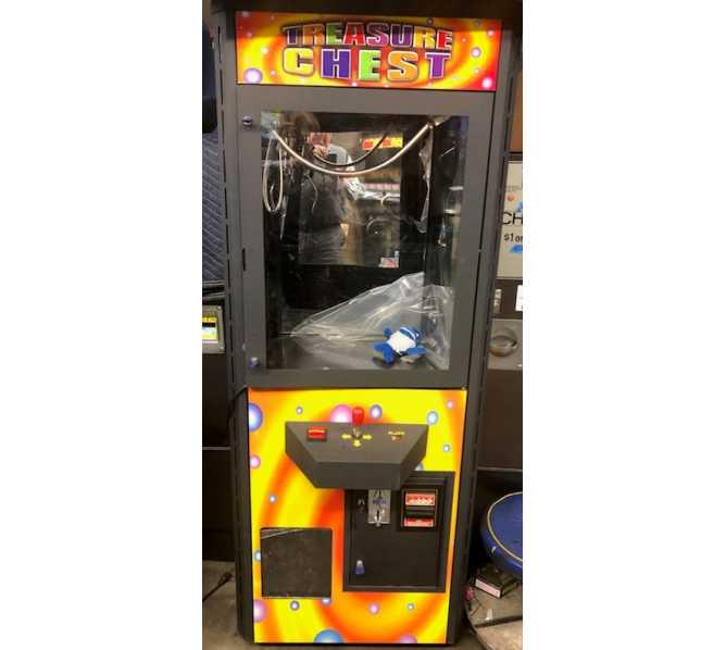 TREASURE CHEST Crane Arcade Machine Game for sale - TAKES COINS & BILLS!
