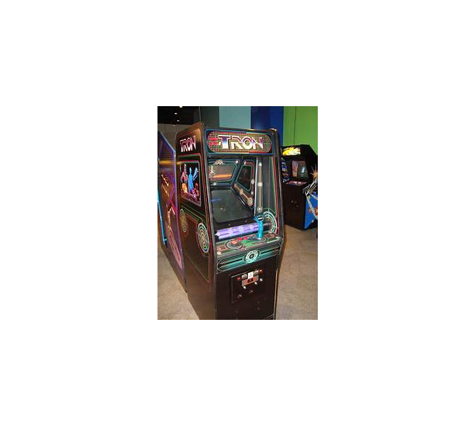 TRON Upright Arcade Machine Game for sale by Bally Midway