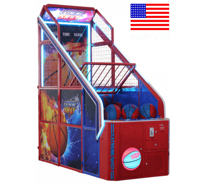 UNIS Extreme Shot BASKETBALL Arcade Machine Game for sale