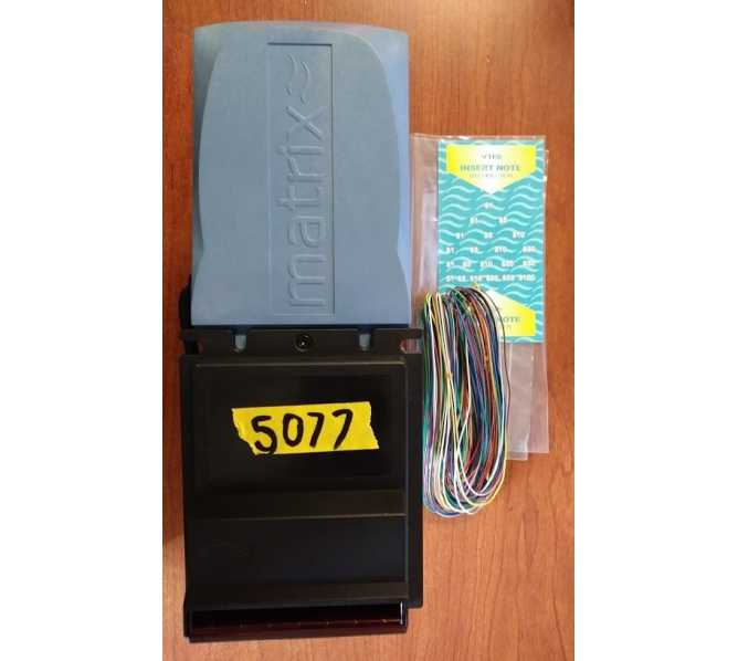 VTI MATRIX MX-DU-USD DBA Dollar Bill Acceptor Validator #5077 for sale