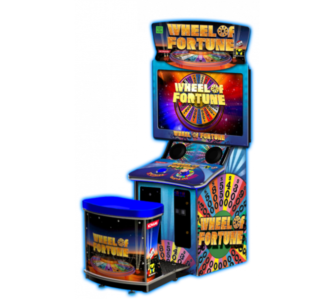 WHEEL OF FORTUNE DELUXE Ticket Redemption Arcade Machine Game for sale