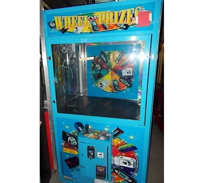 WHEEL OF PRIZES CRANE Redemption Arcade Machine Game for sale