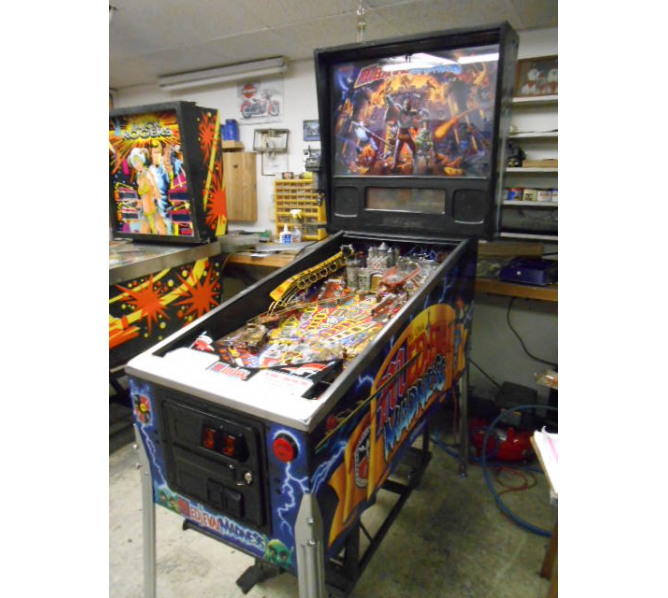 WILLIAMS MEDIEVAL MADNESS Pinball Machine Game #1 for sale