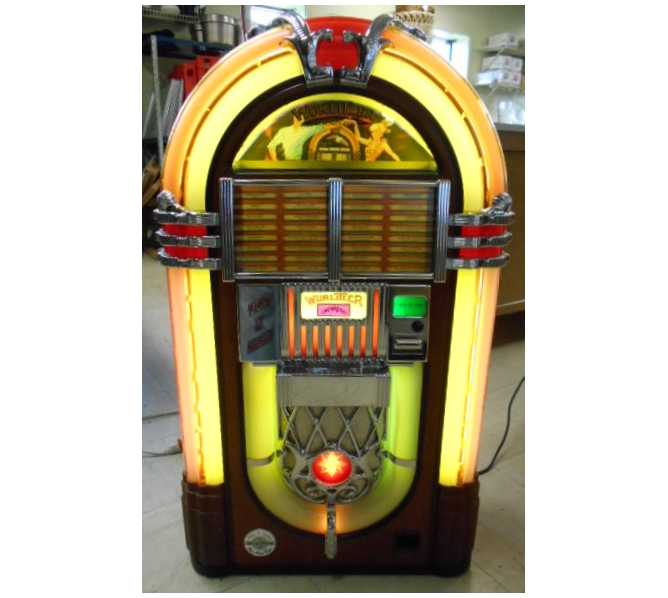 WURLITZER PLAY IT AGAIN Replica CD Compact Disc Jukebox for sale