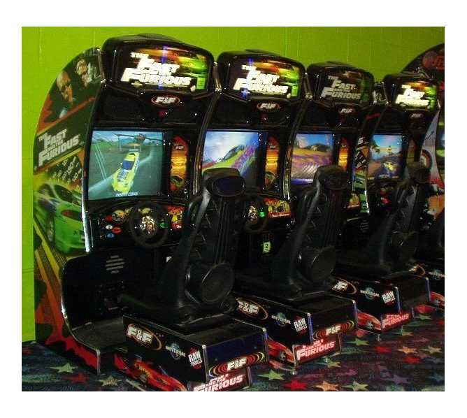 THE FAST and THE FURIOUS Sit-down Arcade Machine Game for