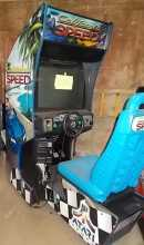 CALIFORNIA SPEED Sit-Down Driving Arcade Machine Game for sale by Atari