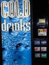Dixie Narco DN 276 S11 6 SELECTION Can SODA COLD DRINK Vending Machine for sale
