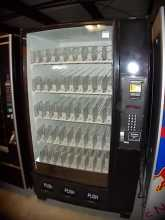 Dixie Narco DN5591, 5591, BeverageMax, Bottle Drop, Glass Front 45 SELECTION SODA COLD DRINK Vending Machine for sale