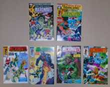 MICRONAUTS COMIC BOOKS LOT - KING-SIZE ANNUAL ISSUES #1 & #2 - SPECIAL EDITION ISSUES #1 through #4 for sale - 1979 1st Series MARVEL COMICS GROUP