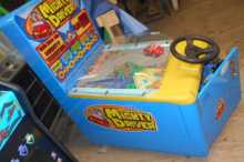MIGHTY DRIVER Redemption Arcade Machine Game for sale by SAMMY - Designed for children of all ages