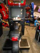 ROAD BURNERS Sit-Down Video Arcade Machine Game for sale by ATARI - LINKED PAIR of 2 SEATS