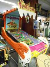 THE FLINTSTONES Pinball Machine Game for sale Redemption Game by ICE - Coin-Operated Ticket Vendor